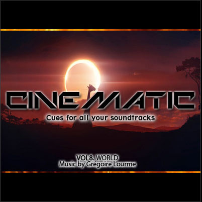 Grégoire Lourme Album CD Cinematic 8 Ethnic
