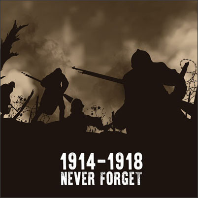Grégoire Lourme Album CD 1914-1918 Never Forget