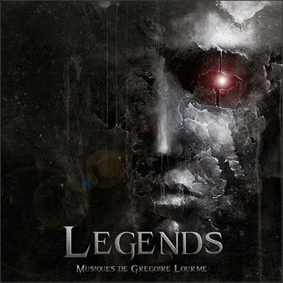 Grégoire Lourme Album CD Legends