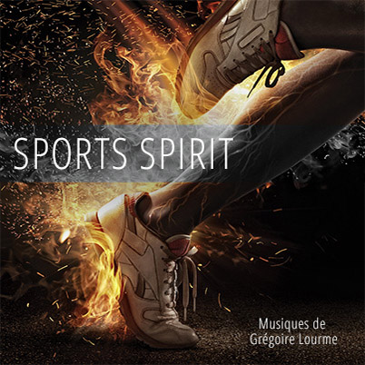 Grégoire Lourme Album CD Sports Spirit
